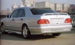 Продувной спойлер на Mercedes w210