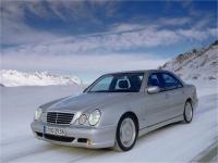 Передний бампер AMG е55 Mercedes W210