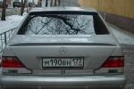 Спойлер на стекло Mercedes w140