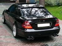 Спойлер AMG на стекло Mercedes w211