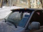 Козырек над стеклом Toyota LC80