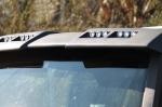 Козырек над стеклом Hummer H2
