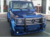 Накладка капота Mercedes w463