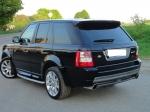 Задний бампер Stormer Range Rover