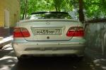 Спойлер на багажник Mercedes w208