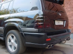 Спойлер со стоп сигналом Toyota LC100