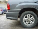 Накладка JAOS на задний бампер Toyota LC100
