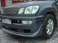Накладка JAOS на передний бампер Toyota LC100