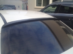 Спойлер AMG на стекло Mercedes w205
