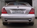 Спойлер на багажник Mercedes w220