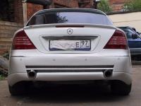 Спойлер на багажник Mercedes Cl 215