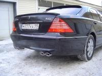 Спойлер на стекло Mercedes w220