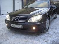 Обвес Carlsson на Mercedes w220