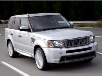 Передний бампер Stormer Range Rover