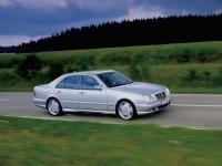 Пороги AMG e55 на Mercedes W210