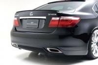 Накладка заднего бампера Wald Lexus LS