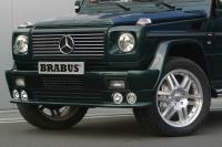 Юбка переднего бампера Brabus W463