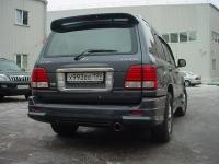 Накладка JAOS на задний бампер Lexus LX470